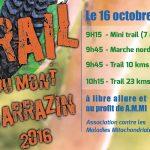 Trail du mont Sarrazin édition 2016
