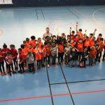 compétition en salle catégories école d'athlétisme et poussin