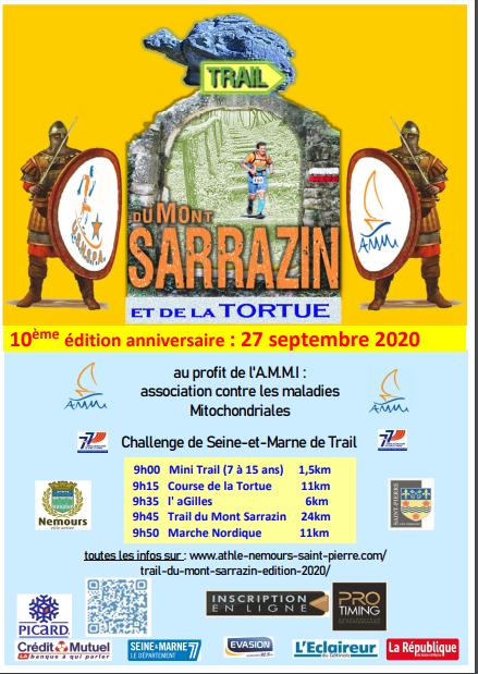 Trail du Mont Sarrazin 2020
